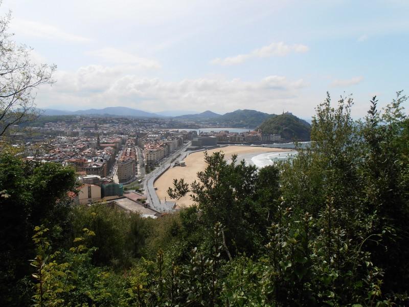 Hiking from Ulia to Pasaia